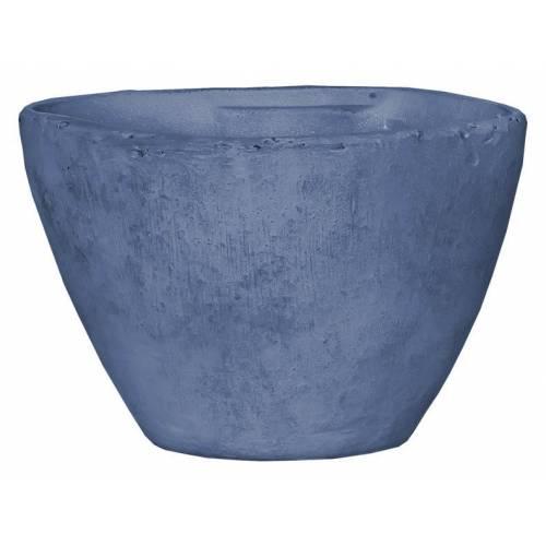Горшок для цветов 11 л. глина, голубой