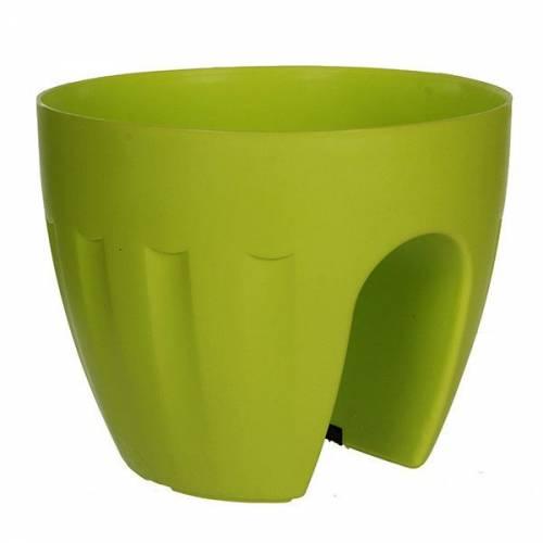 Горшок для цветов 4,2 л. Elba зеленый