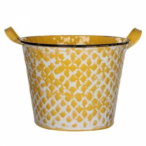 Горшок для цветов Jano 6,2 л. желтый