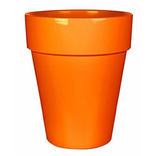 Горщик для квітів 11 л. глина, помаранчевий