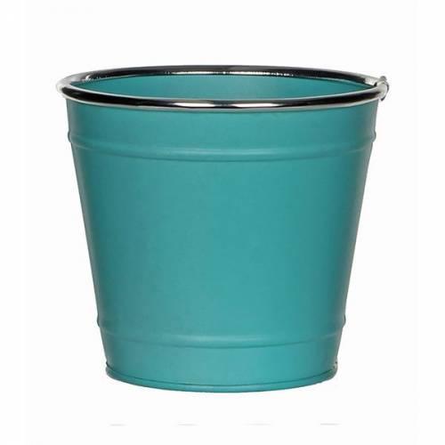 Горшок для цветов 1,5 л. бирюза
