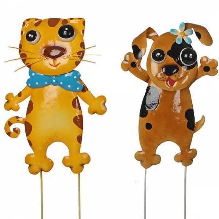 Набір декору для саду Кіт і Пес
