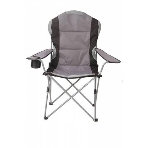 Кресло портативное TE-15 SD серое