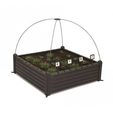 Грядка для рослин Garden Bed чорна