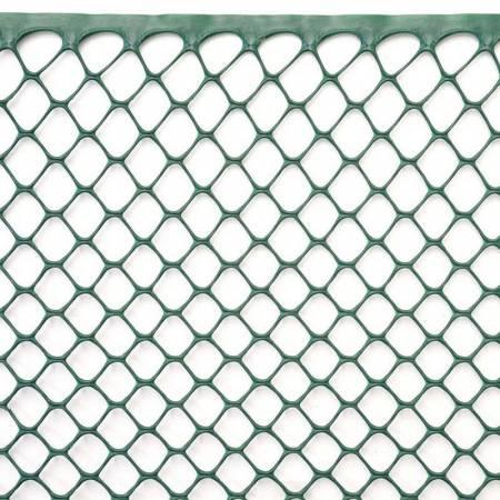 Сітка для рослин, 1x5 м, рулон, колір-зелений, 15 мм, шестикутні отвори