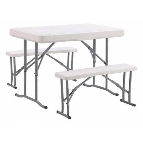 Набір меблів для пікніка TE-1812, стіл і дві лавки