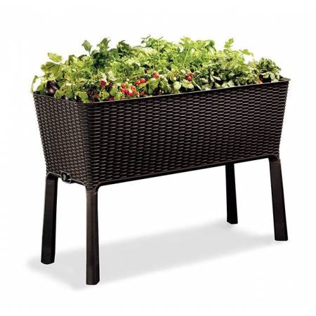 Грядка для растений Easy Grow, коричневая