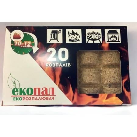 """Розпалювачі """"Екопал"""", 20 брикетів"""