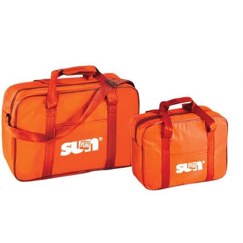 Ізотермічна сумка Sun & Fun 2 in 1 Cool Set, помаранчева