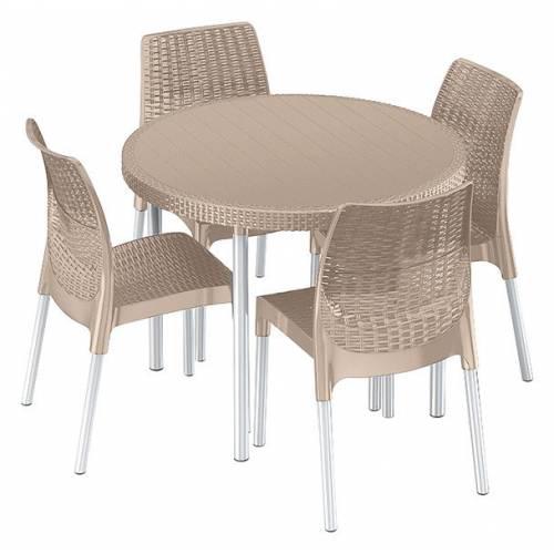 Комплект садовой мебели Jersey set, беж