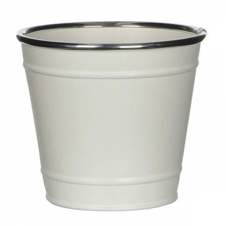 Горщик для квітів 1,5 л. білий