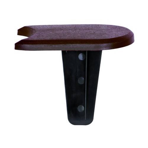 Палісад Flat, коричневий, 1,9 м
