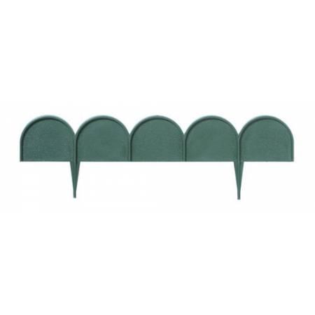 Бордюр садовый GARDEN LINE темно-зеленый, 10 м