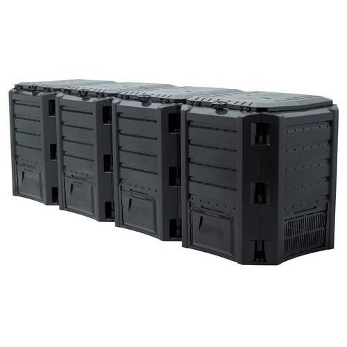 Компостер MODULE COMPOGREEN 1600 л, чорний