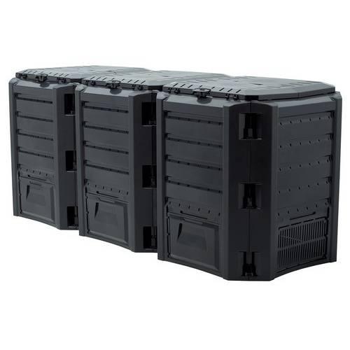Компостер MODULE COMPOGREEN 1200 л, чорний