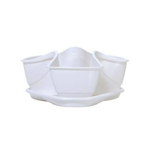 Горщик для рослин COUBI білий, 3 л