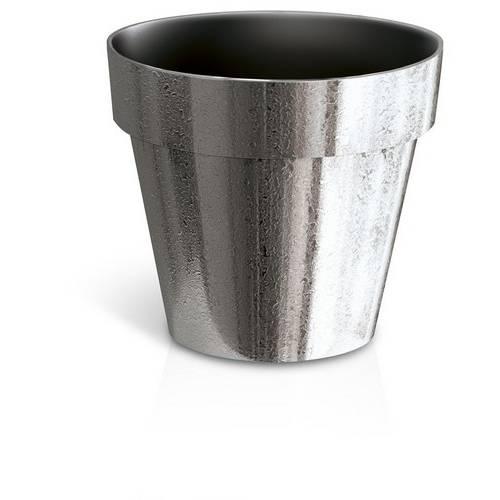 Горщик для рослин Cube хромований, 1,2 л