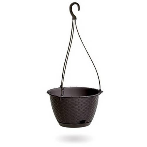 Горщик для рослин RATOLLA ROUND W - коричневий, 3,4 л