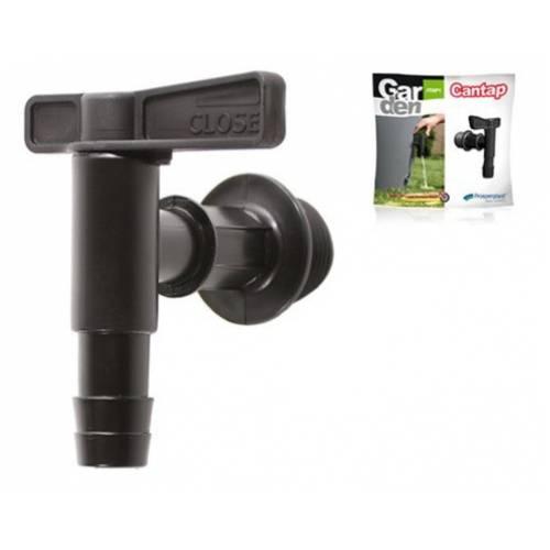 Кран для ємності для дощової води CANTAP - чорний