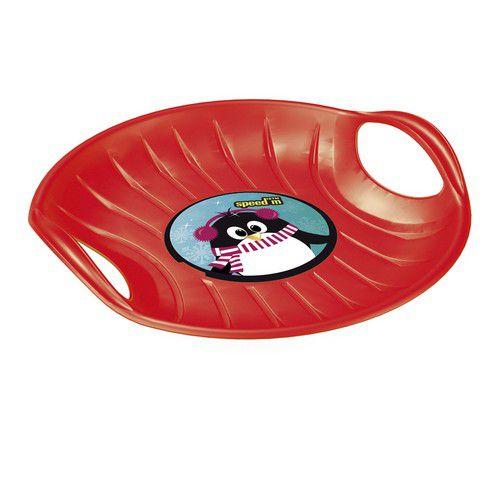 Зимові санки-диск SPEED-M, червоні