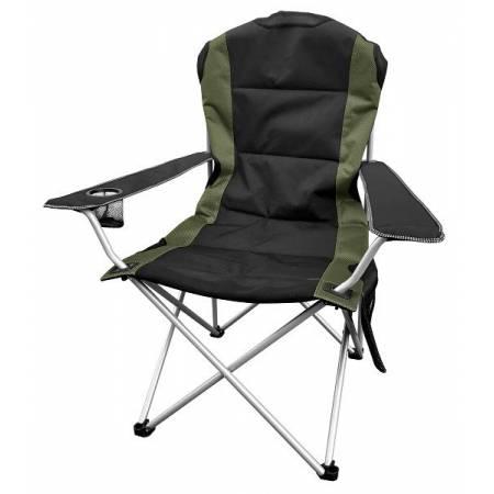 Портативне крісло Time Eco ТЕ-15 SD, чорно-зелене