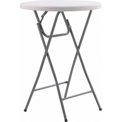 Стол складной круглый Time Eco ТЕ-1832, белый